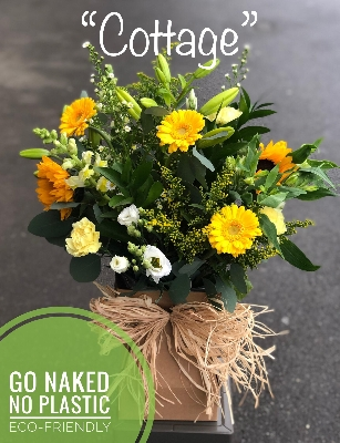 Cottage 'Naked' Eco Bouquet