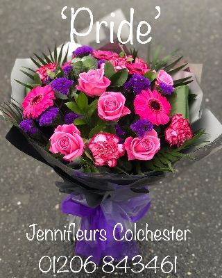 Flowers Colchester Pink Purple