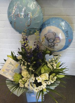 Baby Flowers and Balloons Colchester