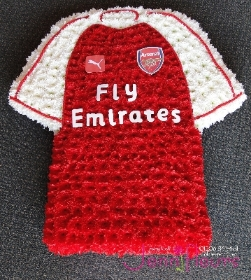 Football Shirt in flowers