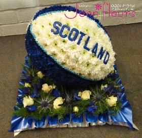 Rugby Ball Flowers