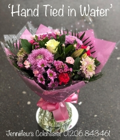 Hand Tied in Water