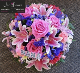Pink and Purple Mixed Posy