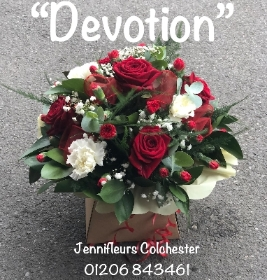 Devotion red flowers Colchester