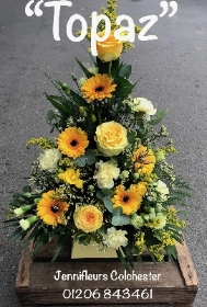 Gold and Yellow Flower Arrangement Colchester
