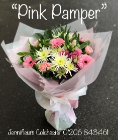 Pink Pamper Flowers Colchester