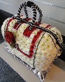Hand Bag Funeral Flowers