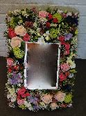 A4 Floral Picture Frame