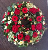 Wreath Red White Colchester